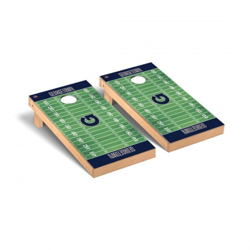 Georgetown Hoyas Football Field Cornhole Game Set