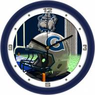 Georgetown Hoyas Football Helmet Wall Clock