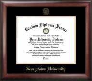 Georgetown Hoyas Gold Embossed Diploma Frame