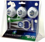 Georgetown Hoyas Golf Ball Gift Pack with Hat Trick Divot Tool