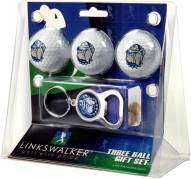 Georgetown Hoyas Golf Ball Gift Pack with Key Chain