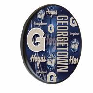 Georgetown Hoyas Digitally Printed Wood Sign