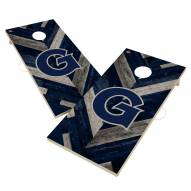 Georgetown Hoyas Herringbone Cornhole Game Set