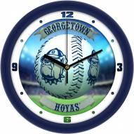 Georgetown Hoyas Home Run Wall Clock