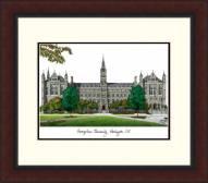 Georgetown Hoyas Legacy Alumnus Framed Lithograph
