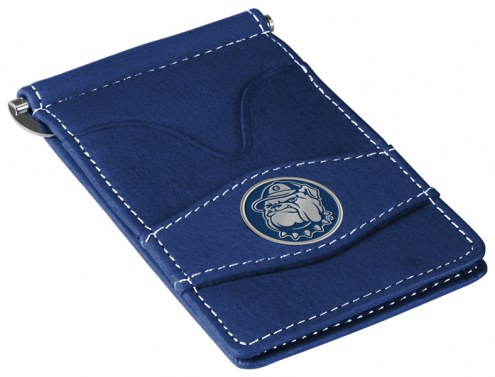 Georgetown Hoyas Navy Player's Wallet
