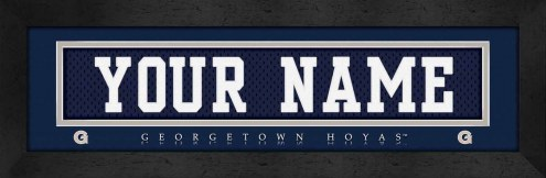 Georgetown Hoyas Personalized Stitched Jersey Print
