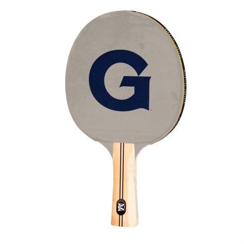 Georgetown Hoyas Ping Pong Paddle