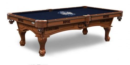 Georgetown Hoyas Pool Table