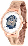 Georgetown Hoyas Rose Mesh Statement Watch