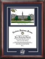 Georgetown Hoyas Spirit Graduate Diploma Frame