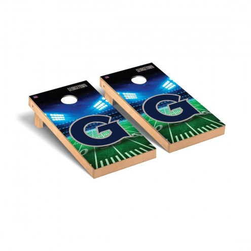 Georgetown Hoyas Stadium Cornhole Game Set