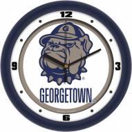 Georgetown Hoyas Traditional Wall Clock
