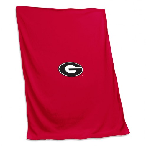 Georgia Bulldogs Sweatshirt Blanket