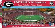 Georgia Bulldogs 1000 Piece Panoramic Puzzle