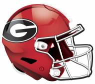 "Georgia Bulldogs 12"" Helmet Sign"