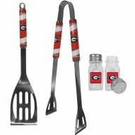 Georgia Bulldogs 2 Piece BBQ Set with Salt & Pepper Shakers