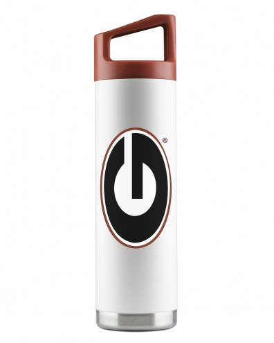 Georgia Bulldogs 22 oz. Stainless Steel Powder Coated Water Bottle