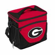 Georgia Bulldogs 24 Can Cooler