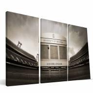 "Georgia Bulldogs 24"" x 48"" Stadium Canvas Print"
