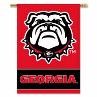 "Georgia Bulldogs 28"" x 40"" Two-Sided Banner"