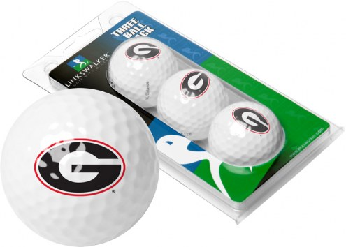 Georgia Bulldogs 3 Golf Ball Sleeve