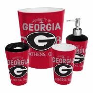 Georgia Bulldogs 4-Piece Bath Set