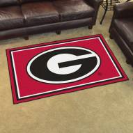 Georgia Bulldogs 4' x 6' Area Rug