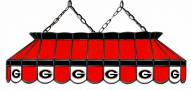"Georgia Bulldogs 40"" Stained Glass Pool Table Light"
