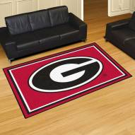 Georgia Bulldogs 5' x 8' Area Rug
