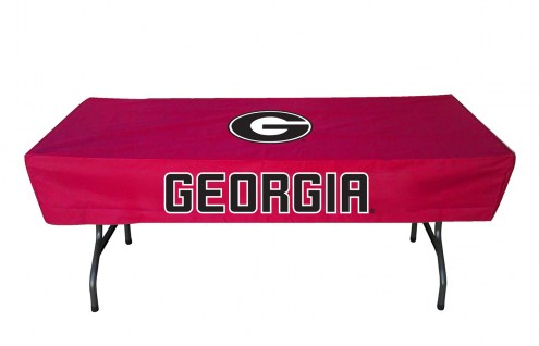 Georgia Bulldogs 6' Table Cover