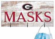 "Georgia Bulldogs 6"" x 12"" Mask Holder"