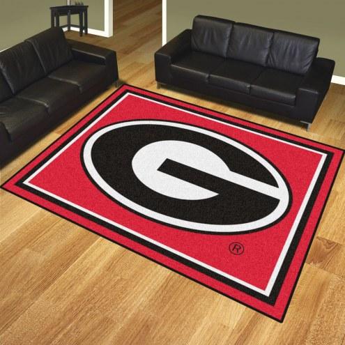 Georgia Bulldogs 8' x 10' Area Rug