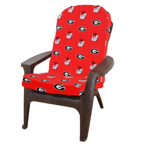 Georgia Bulldogs Adirondack Chair Cushion