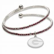 Georgia Bulldogs Amped Logo Crystal Bracelet