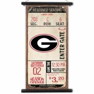 Georgia Bulldogs Kickoff Printed Canvas Banner