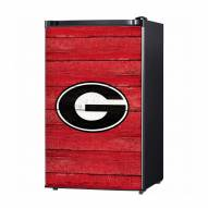 Georgia Bulldogs Wood Logo Decal