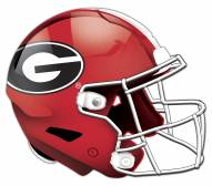 Georgia Bulldogs Authentic Helmet Cutout Sign