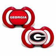 Georgia Bulldogs Baby Pacifier 2-Pack