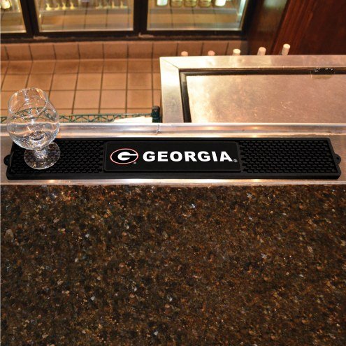 Georgia Bulldogs Bar Mat