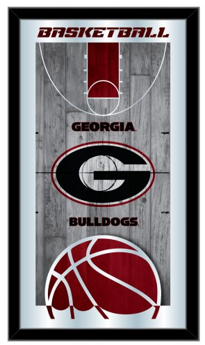 Georgia Bulldogs Basketball Mirror
