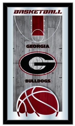 Georgia Bulldogs Basketball Mirror