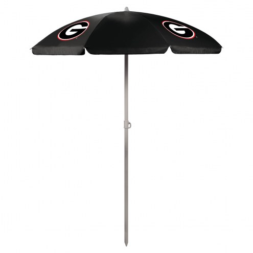 Georgia Bulldogs Beach Umbrella