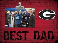 Georgia Bulldogs Best Dad Clip Frame
