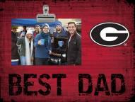 Georgia Bulldogs Best Dad Clip Frame