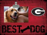 Georgia Bulldogs Best Dog Clip Frame