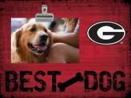 Georgia Bulldogs Best Dog Clip Frame