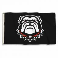 Georgia Bulldogs Black 3' x 5' Flag
