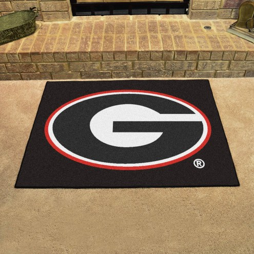 Georgia Bulldogs Black All-Star Mat