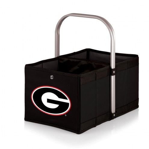 Georgia Bulldogs Black Urban Picnic Basket